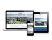 Responsive Website Immotega property management ag
