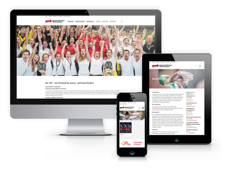 Website Appenzeller Turnverband