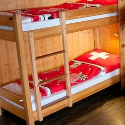 Sleeping in Switzerland doesn't have to be expensive!