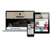 Responsive-Website Werbehof